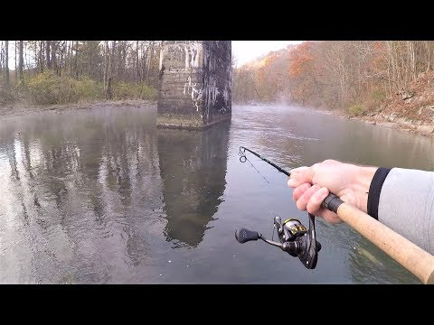 TROUT Fishing With Spinners For RAINBOW & BROWN Trout