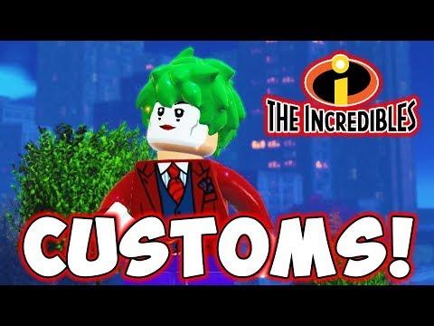 LEGO INCREDIBLES CUSTOMS! The Joker & Batman