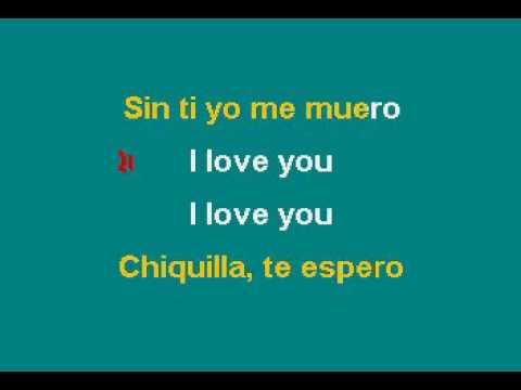 Kumbia All Star   Chiquilla Karaoke