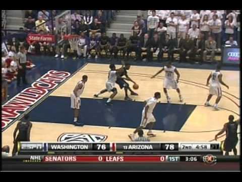 (2-19-11) Washington Huskies vs. Arizona Wildcats bball 2011 Part 2