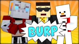 THE BURP COMPETITION AND THE BEST EVER MINECRAFT MAP (Minecraft 1.8 Slime Bounce Map - FREEFALL)