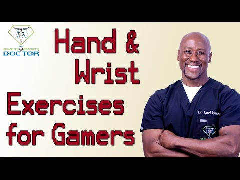 This Video Shows Hand Exercises for Gamers and Heavy Computer Users