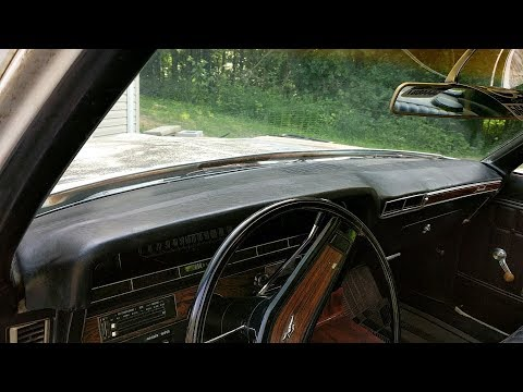 Recovering The Dash Pad Of 1970 Impala