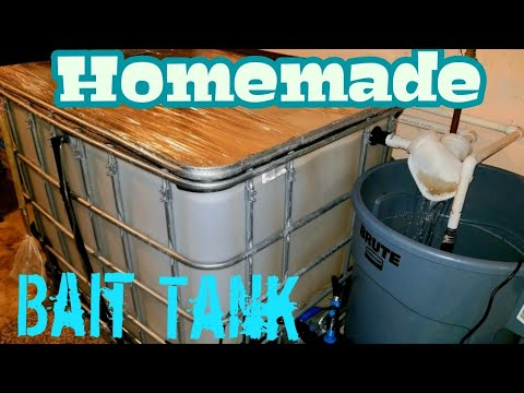DIY Bait TANK - 1 Year After Build (TIPS)