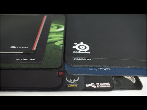 Best Mouse Pad for Competitive FPS Gaming 2016 | Hard vs Soft | Aluminium vs Cloth