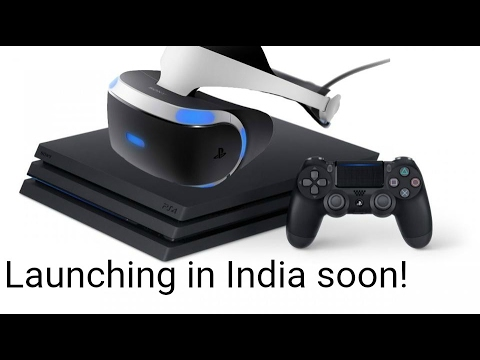 Sony Playstation 4 Pro & VR First Look | Digit.in