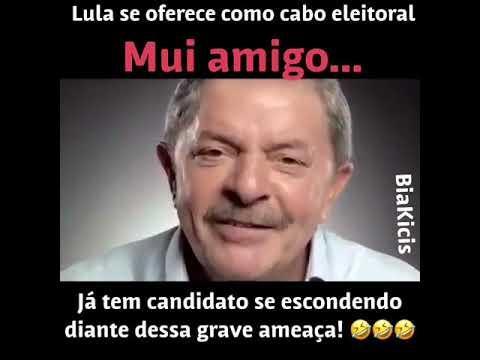 Lula se oferece como cabo eleitoral e já tem candidato se escondendo
