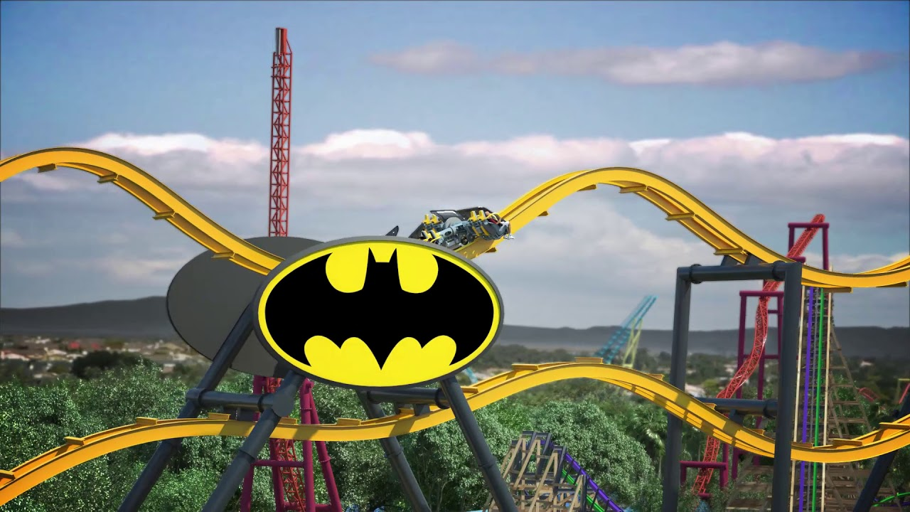 Batman: The Ride - New for Six Flags Discovery Kingdom in 2019!
