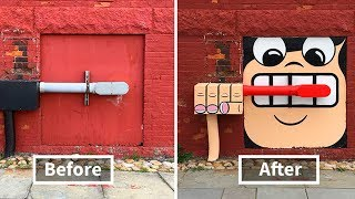 There's A Genius Street Artist Running Loose In New York and French , Let's Hope Nobody Catches Him