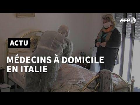 Covid-19 en Italie: des interventions à domicile pour soulager les hôpitaux italiens | AFP