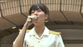 陸上自衛隊東部方面音楽隊 吹奏楽 女性クラリネット奏者の音楽隊員が歌...