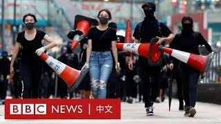 香港西灣河開槍:警察開槍後全港爆發示威 有人被點火焚燒- BBC News 中文