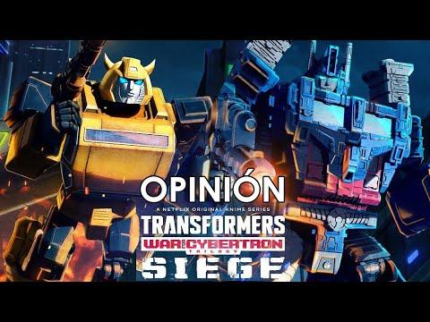 OPINIÓN Transformers la guerra por Cybertron: Asedio (Netflix)