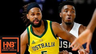 USA vs Australia - Full Game 2 Highlights | August 24 | Exhibition Game | 2019 USA Basketball