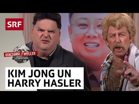 Giacobbo  Müller  Kim Jong Un und Harry Hasler