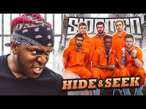 SIDEMEN HIDE AND SEEK IN A PRISON