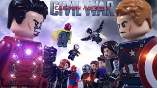 Lego Captain America: Civil War Part 2