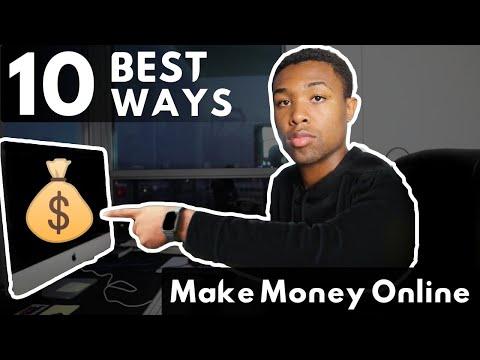 Comparing The 10 BEST Ways To Make Money Online in 2021