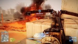 Battlefield 3 - Aftermath Crossbow Gameplay on Markaz Monolith & Epicenter | PC Ultra Settings