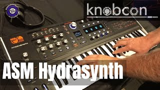 Knobcon 2019: Hydrasynth With Glen Darcey