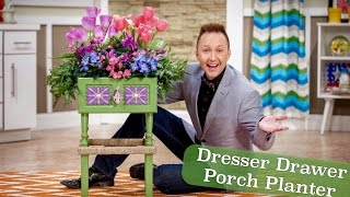 Fyi Guy:  Dresser Drawer Porch Planter