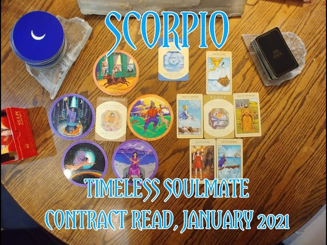 SCORPIO: TIMELESS ROMANTIC SOULMATE READ = A DIVINE CHILD & A REBEL CONTRACT = JANUARY 2021