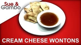 How To Make Cream Cheese Wontons + Sweet & Sour Sauce