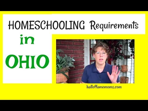 Homeschooling 101 in Ohio - 2017 Weekly Homeschool Vlog