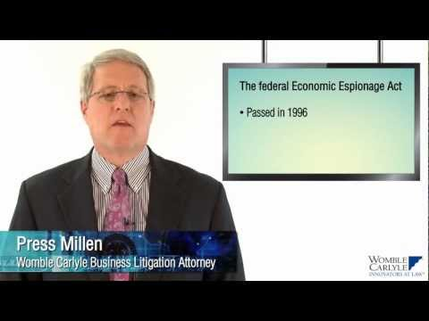 Federal Economic Espionage Act Overview