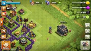 Clash of Clans village progress after 2 years