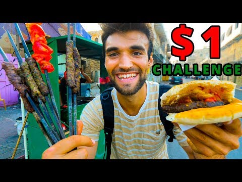 The Ultimate $1 PALESTINIAN STREET FOOD TOUR!