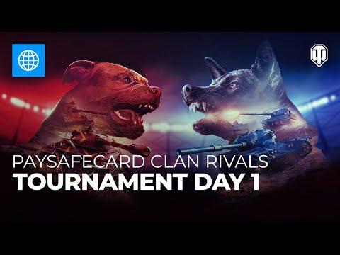 Paysafecard Clan Rivals Tournament: Day 1