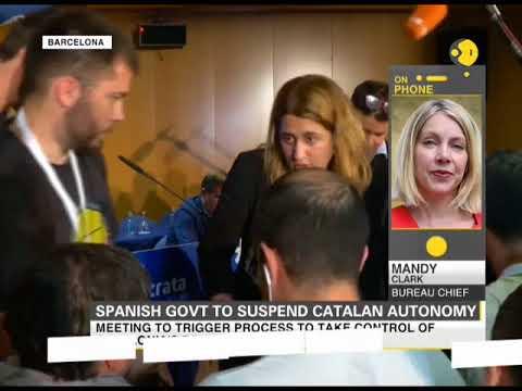 Spanish govt to suspend Catalan autonomy