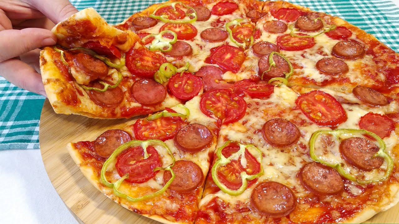 Asan və dadlı pizza resepti 😍