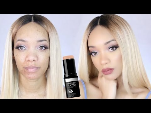 Make Up For Ever Ultra HD Stick Foundation 153 Review & Demo