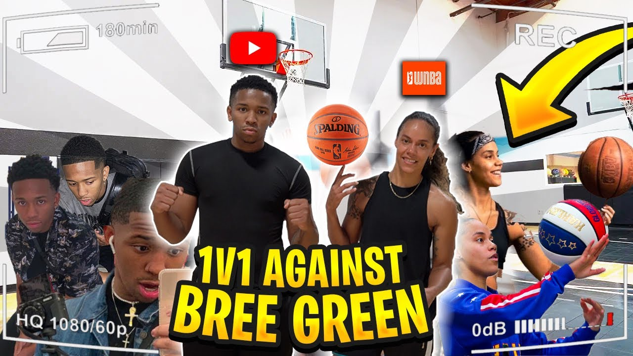1v1 Against Bre Green *Best Female Hooper Ive Seen*