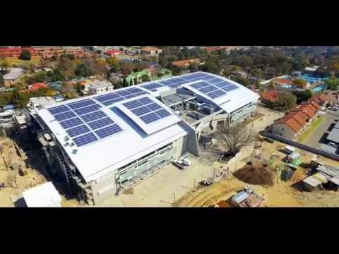 PV Installation  at banks by SUNWORX solar