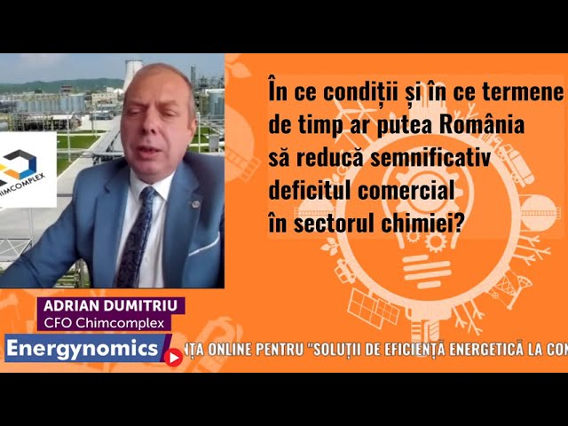 EnergynomicsTalks - Adrian Dumitriu, CFO Chimcomplex