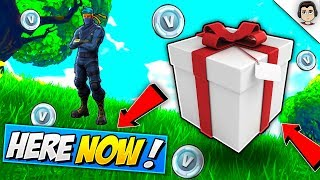 *NEW* GIFTING SYSTEM IS HERE! Fortnite GIFTING SKINS FEATURE UPDATE RELEASE DATE in Fortnite