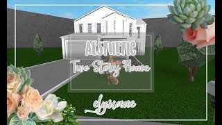 ROBLOX | Bloxburg: Aesthetic Two Story Home + Giveaway