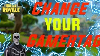 How to switch your GamerTag on (PS4/XBOX/) 100%Working *Not Clickbait Fortnite only