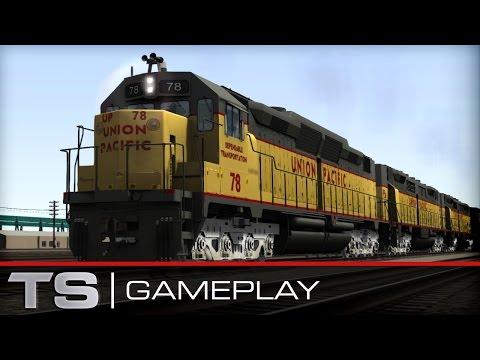 Train Simulator 2016 Gameplay: Union pacific DD35