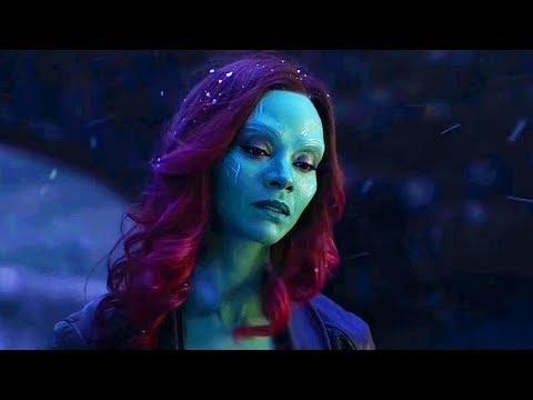 Танос убивает Гамору и получает Камень Души / Мстители: Война бесконечности (2018)