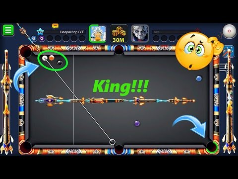 Thumbnail: 8 Ball Pool Best Cue in History Of Pool (King Cue) -Wow He Got In The Face And We Got Hacked