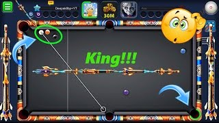 8 Ball Pool Best Cue in History Of Pool (King Cue)  -Wow He Got In The Face And We Got Hacked