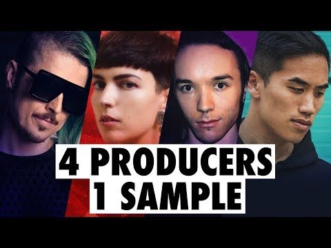 4 PRODUCERS FLIP THE SAME SAMPLE feat. Au5, ill.Gates, Drum & Lace