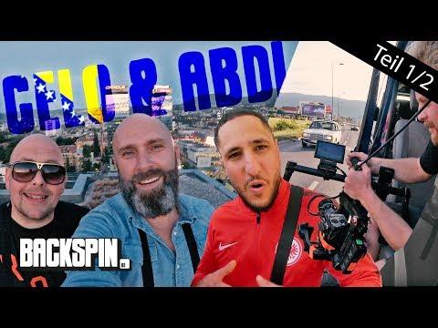 "Celo & Abdi: Niko beim ""Diaspora"" Videodreh in Sarajevo (1/2)"