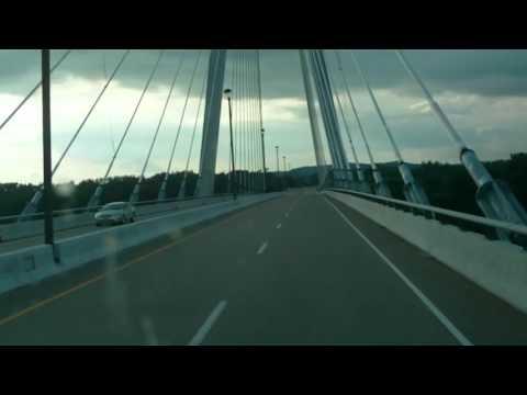 William H Natcher Ohio River Bridge - Kentucky/Indiana State Line - 7/2/13