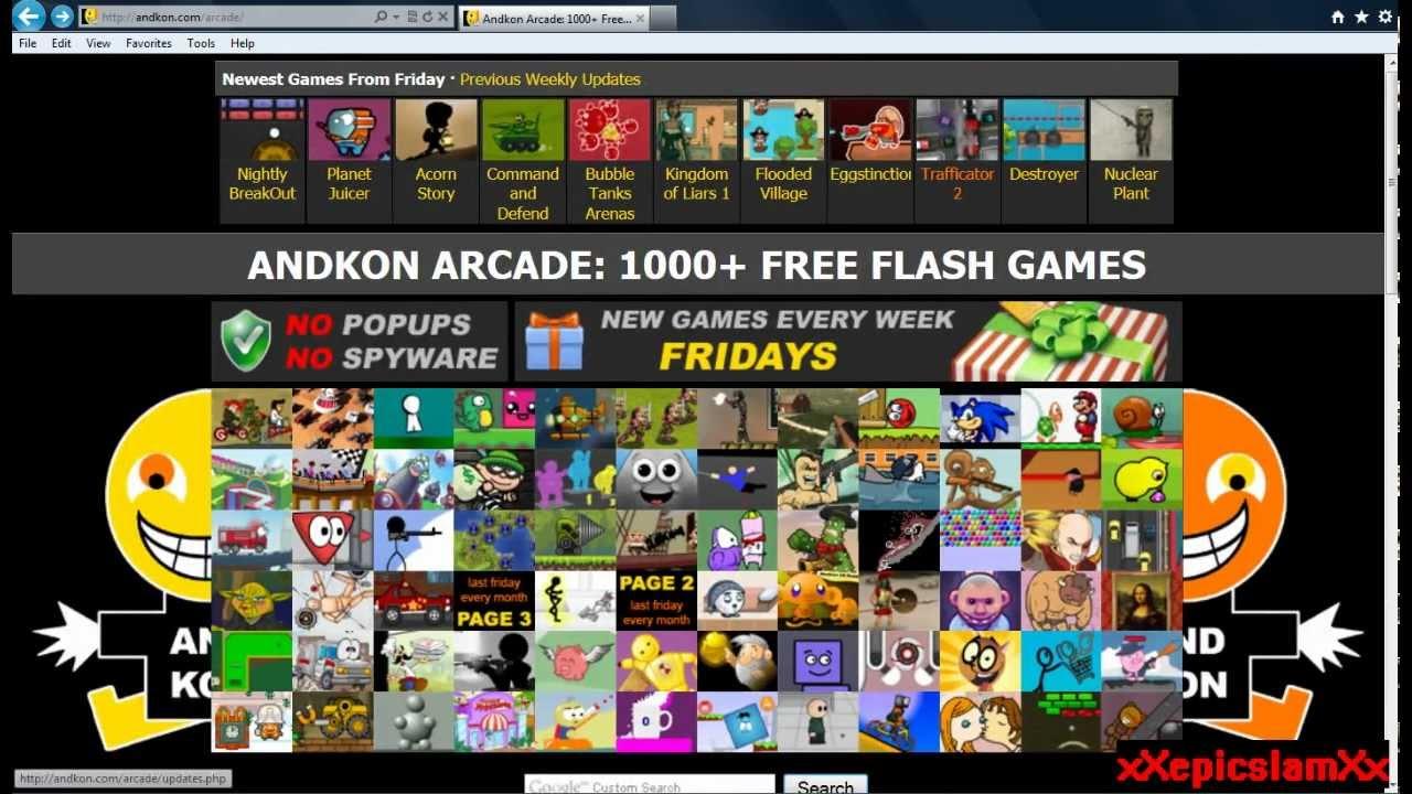 Top 3 Fav Games Andkon Youtube