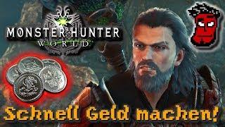 Monster Hunter World: SCHNELL Geld (Zenny) machen! Guide / Tutorial | Gameplay [German Deutsch]